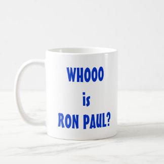 Mug Whooo est Ron Paul ?