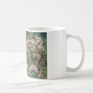 Mug William Blake - Dante courant des trois bêtes