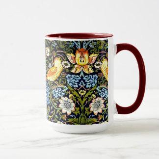 Mug William Morris : Conception vintage de voleur de