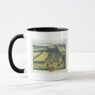 Mug Wytham dans le comté de Berkshire a gravé par Joha