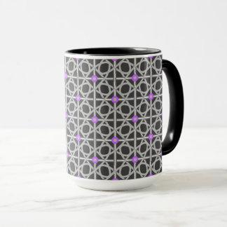 Mug Yay noir et gris et pourpre !