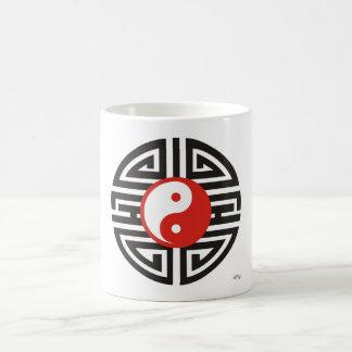 Mug Yin Yang Yantra tatouage