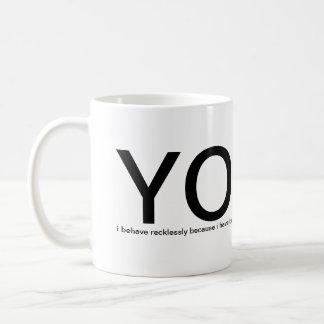 Mug YOLO - vous vivez seulement une fois ! veuillez