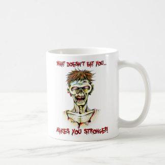 Mug Zombi, déformations fatiguées