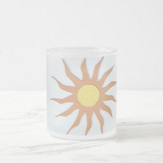 mugg du soleil tasse givré