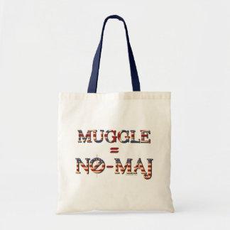 Muggle = geen-Maj Draagtas