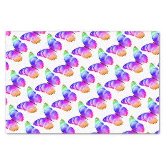 Multi gekleurde vlinder tissuepapier