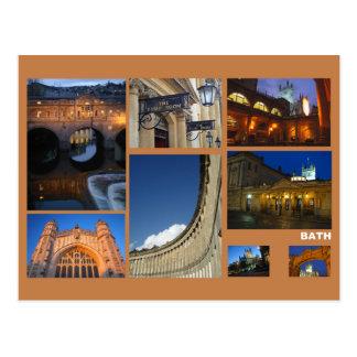 Multi-image de Bath Carte Postale
