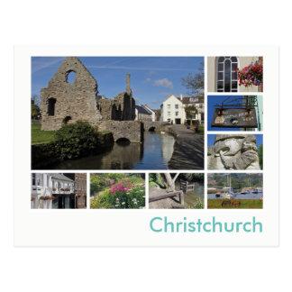Multi-image de Christchurch Carte Postale