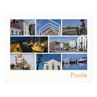 Multi-image de Poole Carte Postale