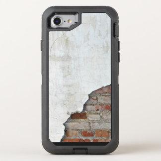 Mur de briques cassé coque otterbox defender pour iPhone 7
