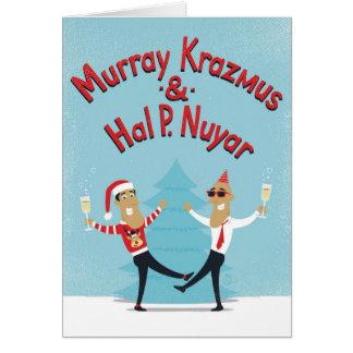 Murray Krazmus et carte de Noël de Hal P. Nuyar