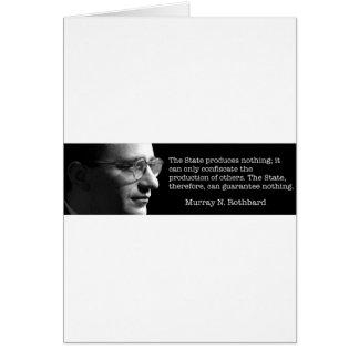Murray Rothbard Carte