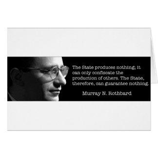 Murray Rothbard Carte De Vœux