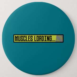 Muscles chargeant Progressbar Zqy9t Badge Rond 15,2 Cm