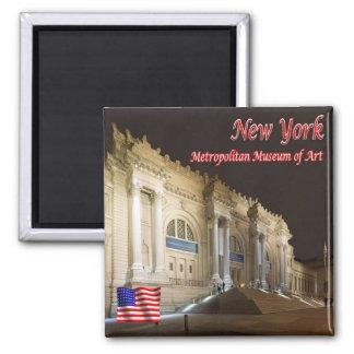 Musée d'Art de la métropolitaine des USA Aimant