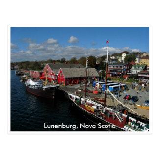 Musée de pêche de la vue atlantique et aérienne carte postale
