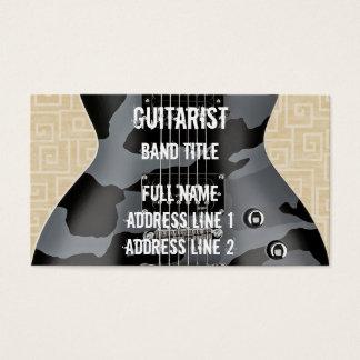 Musicien de hard rock/en métal cartes de visite