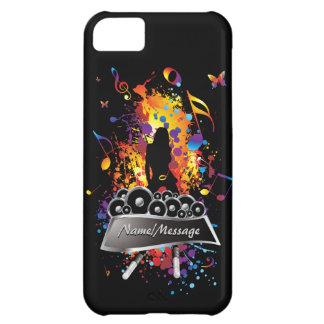 Musique 2 caisses de point coque iPhone 5C