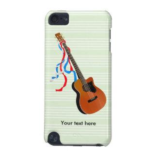 Musique acoustique d'Américain de guitare basse Coque iPod Touch 5G