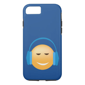 Musique aimant le coque iphone d'Emoji