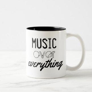 Musique au-dessus de tout tasse
