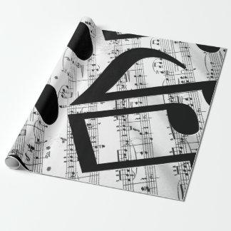 Musique de feuille Artsy Papiers Cadeaux