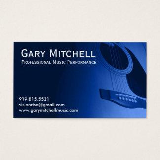 Musique de Gary Mitchell Cartes De Visite