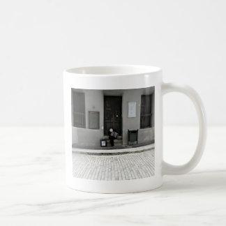 Musique de rue mug blanc