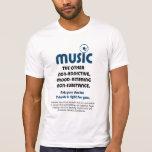 Musique : L'autre ne créant pas de dépendance, hum T-shirt
