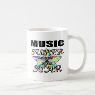 musique mug blanc