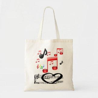 Musique musican de sac à main de fourre-tout de