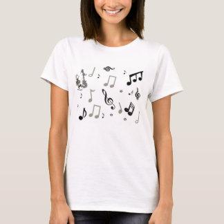 musique t-shirt