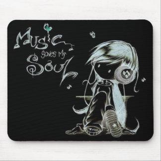 musique tapis de souris