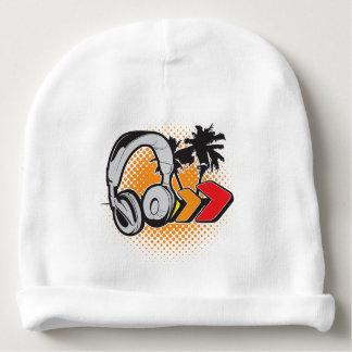 Musique tropicale bonnet pour bébé