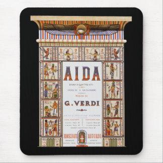 Musique vintage d'opéra, Egyptien Aida par Verdi Tapis De Souris