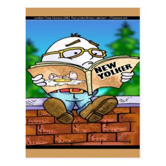 Mystère des cadeaux de Humpty Dumpty Rick Londres Cartes Postales