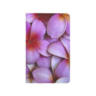N.A., Etats-Unis, Maui, Hawaï. Fleurs roses de Carnet De Poche