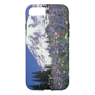 N.A., Etats-Unis, Washington le mont Rainier et Coque iPhone 7