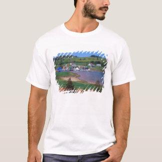 N.A. Le Canada, île Prince Edouard. Les bateaux T-shirt
