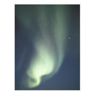 Na, Canada, Manitoba, lumières du nord de Carte Postale