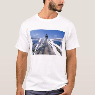 Na, Etats-Unis, Maine, port Clyde.  Point 2 de T-shirt
