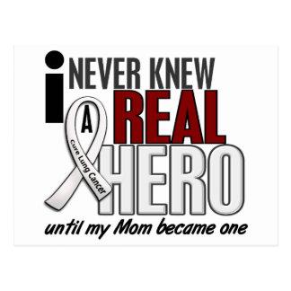N'a jamais connu un vrai cancer de poumon de maman carte postale