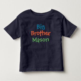 Naam | van de Douane van de grote Broer het Kinder Shirts