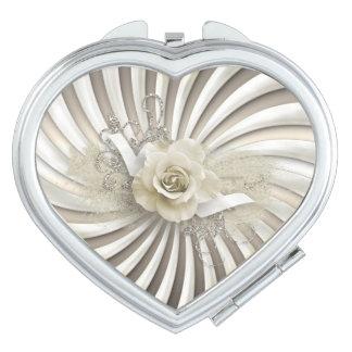 Nam de Compacte Spiegel van Valentijn - Hart & toe Reisspiegeltjes