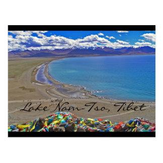 Nam-TSO de lac au Thibet Carte Postale