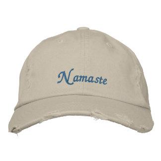 Namaste a affligé le casquette
