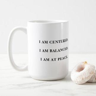 Namaste - tasse avec la citation positive