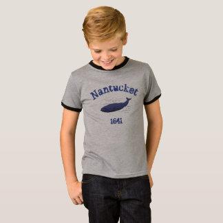 Nantucket, baleine, T-shirt 1641 pour les garçons