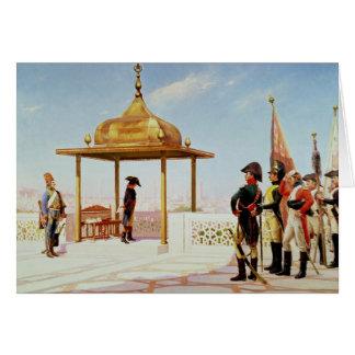 Napoléon au Caire, 1798 Carte